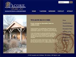 dynamisch website D-core