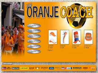 Website Oranjecoach